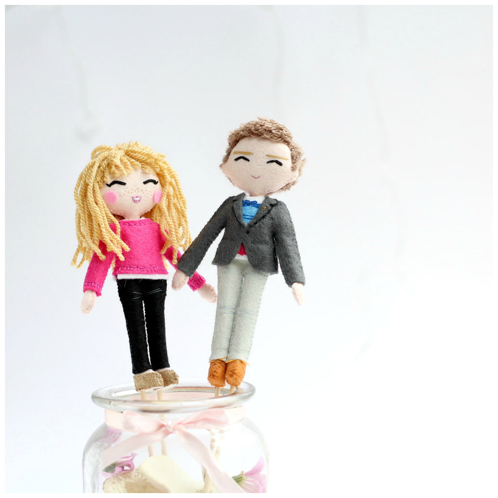 wedding cake topper, personalised wedding, personalised dolls, mini me dolls