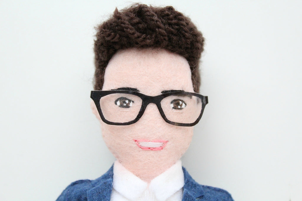 selfie doll, selfie gift, gift for colleague
