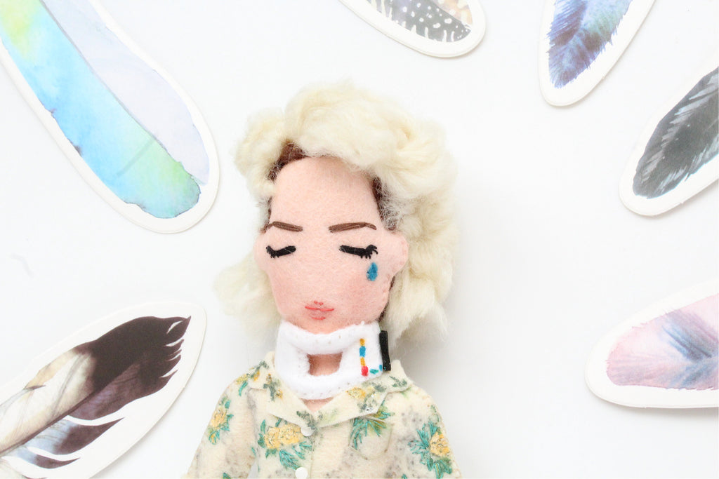 selfie doll made from picture