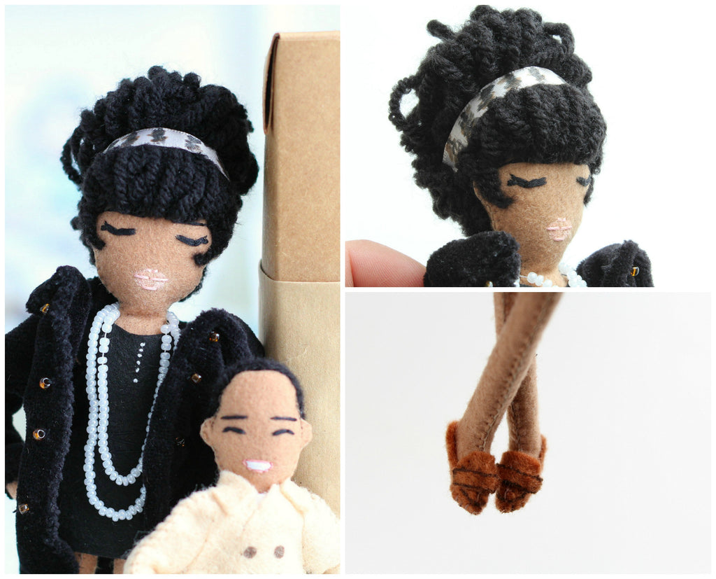 Michael's Mum, custom dolls, personalised dolls, whisper of the pipit