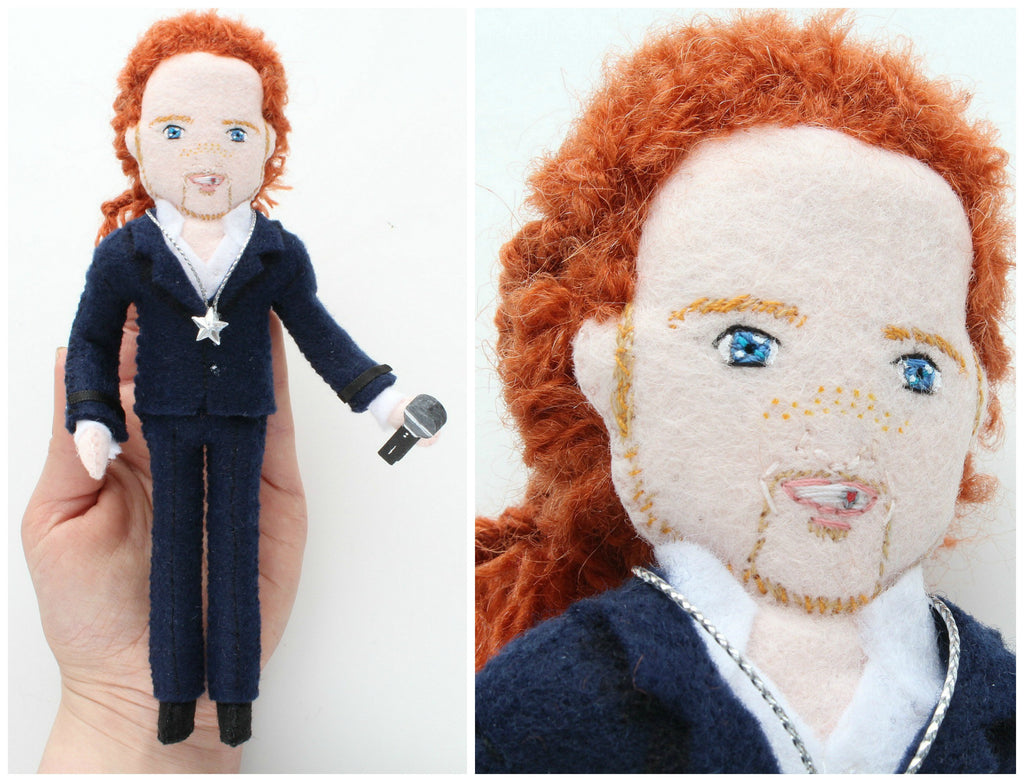 selfie doll, made to order gift, personalised doll