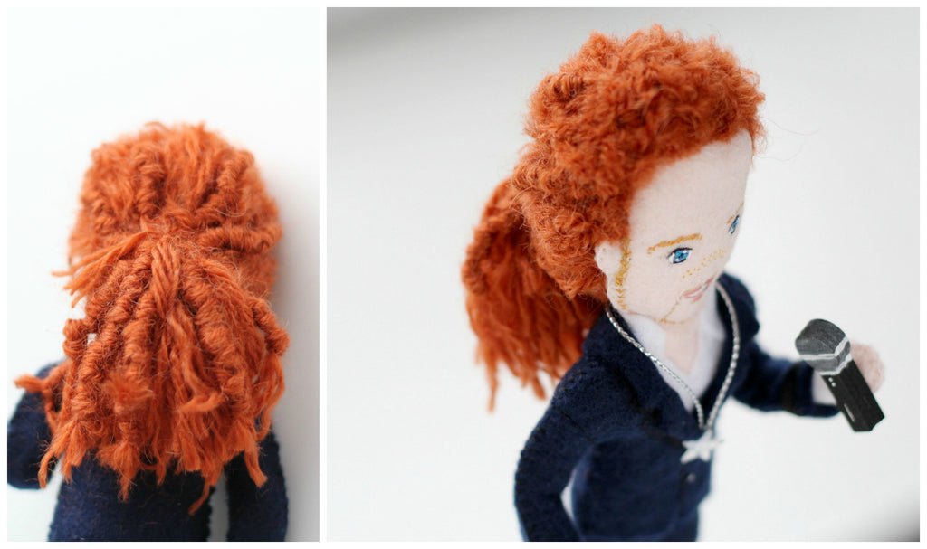 singer doll, whisper of the pipit dolls, personalised dolls