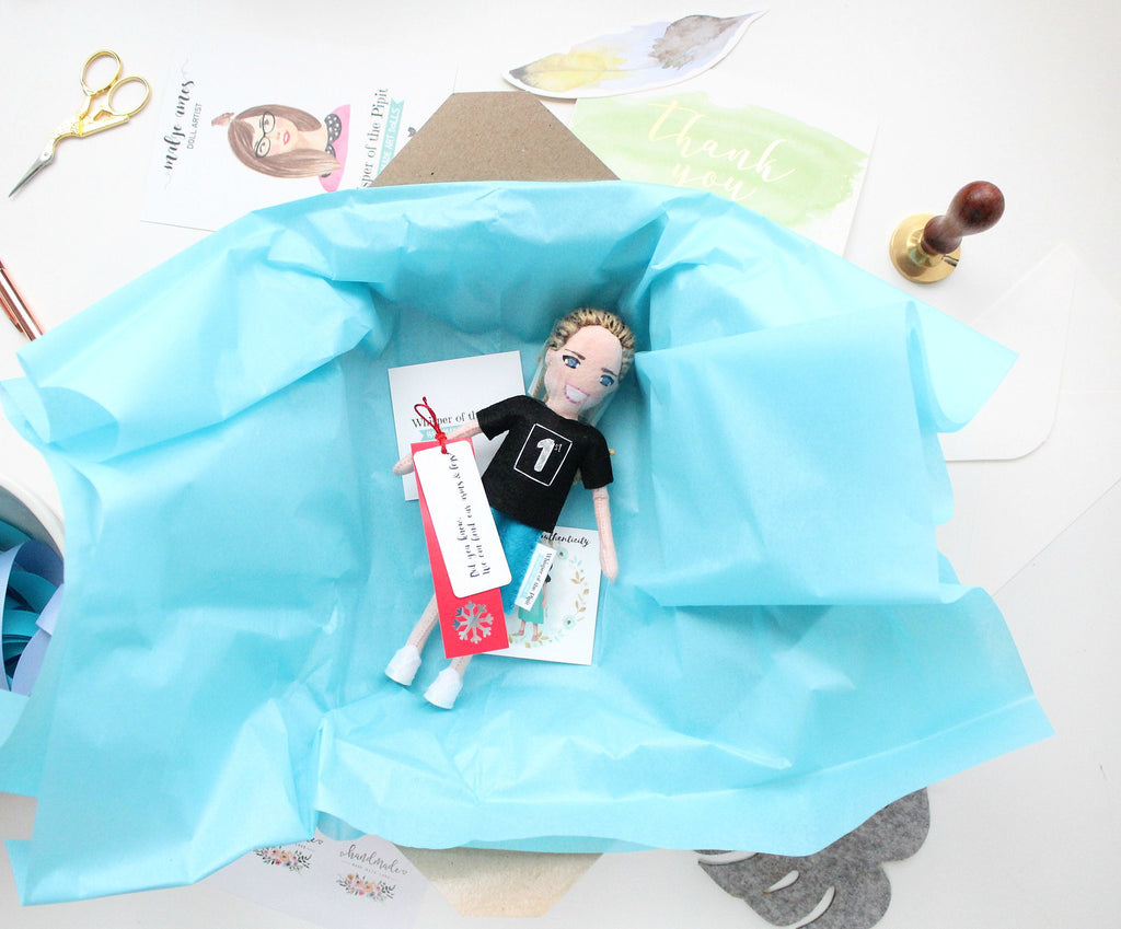 personalised gift for her, doll from photo