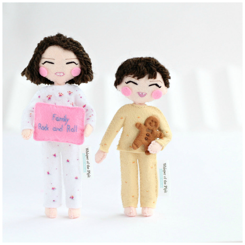 Custom made art dolls to look like you or your loved ones. Made according to the picture provided by the customer. shop: www.whisperofthepipit.com