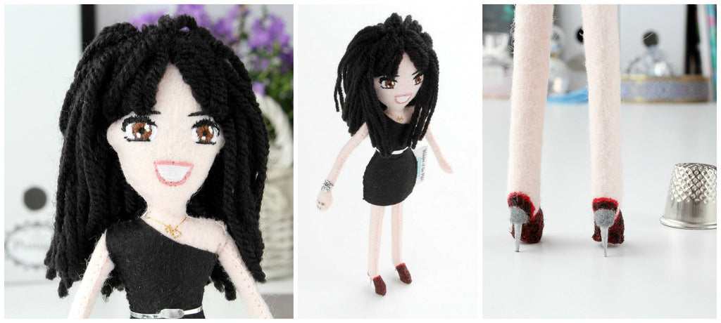 pretty legs, art dolls made to order, whisper of the pipit, handmade dolls,