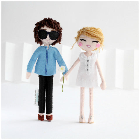 custom art dolls. mini me dolls. selfie dolls. family dolls. personalised dolls. handmade dolls. unique dolls made to order. SHOP: www.whisperofthepipit.com