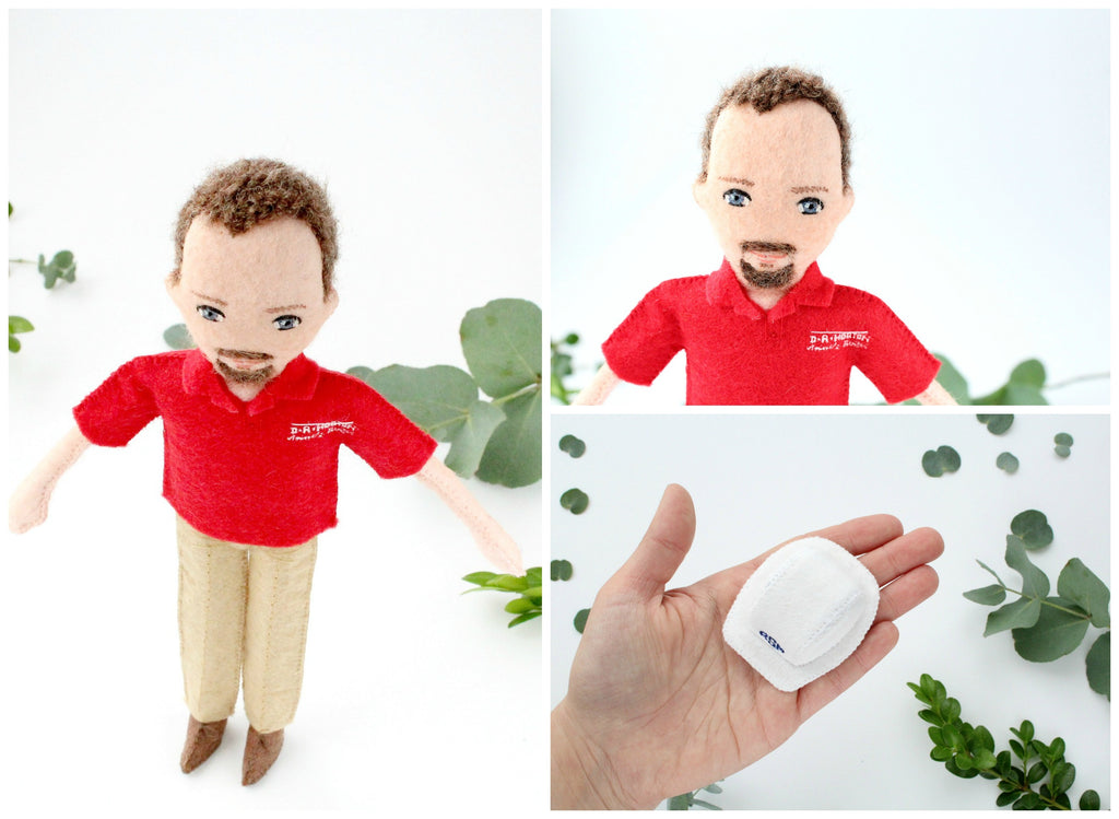 employee dolls are fantastic way to surprise your co-workers, gift for colleagues