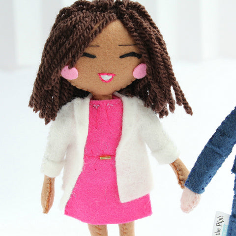 Custom art dolls to look like you or your loved ones. Custom made selfie dolls. SHOP: www.whisperofthepipit.com