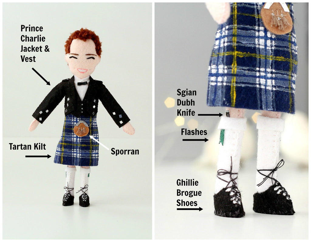 what to wear to Scotish wedding