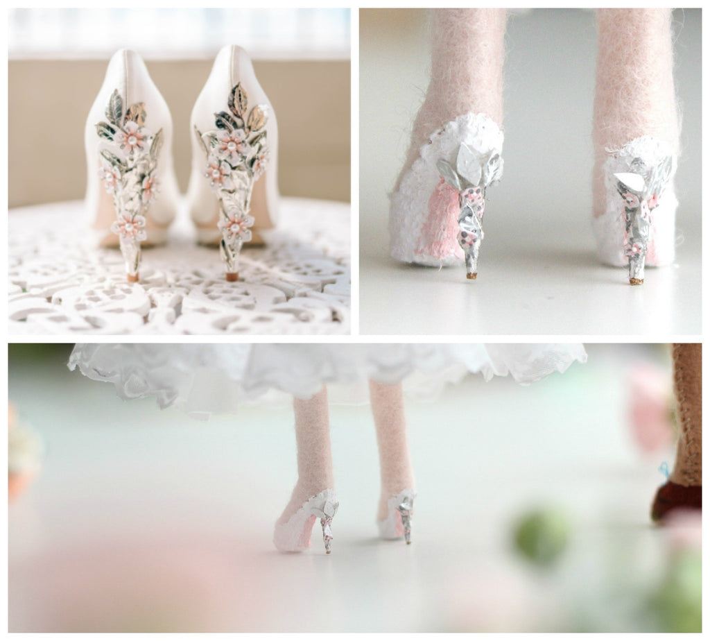 tiny details on shoes, whisper of the pipit dolls,