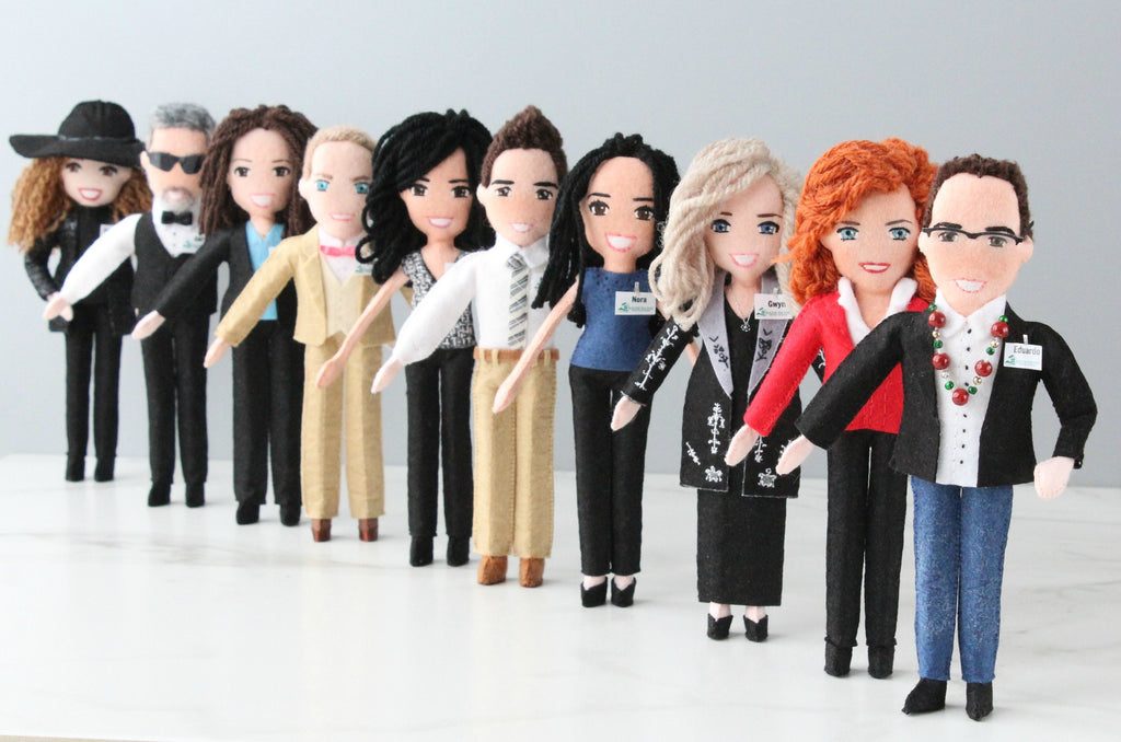 team dolls, company dolls by Whisper of the Pipit