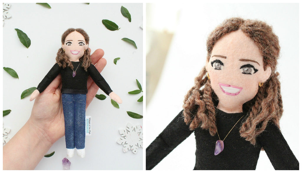 personalised doll from pic