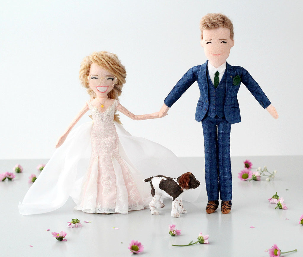 wedding dolls made to order