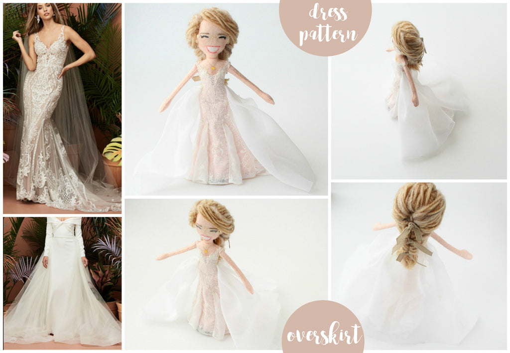 wedding dolls made to order by malgo amos
