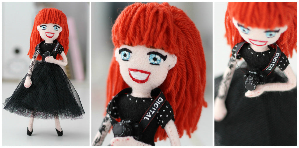 doll with tiny camera, whisper of the pipit dolls are one of a kind gift ideas,