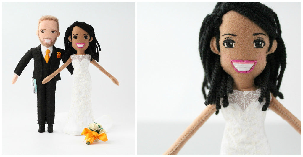bride doll handmade wedding for Dawn