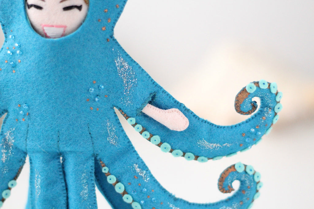 octopus doll tenticles
