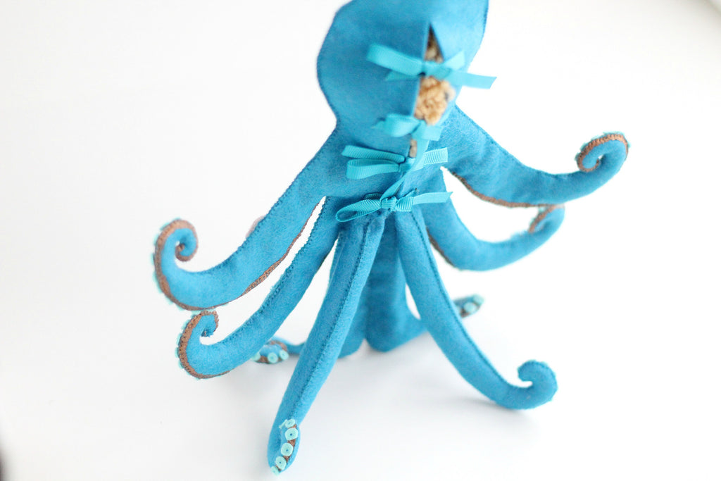 doll in octopus outfit self standing