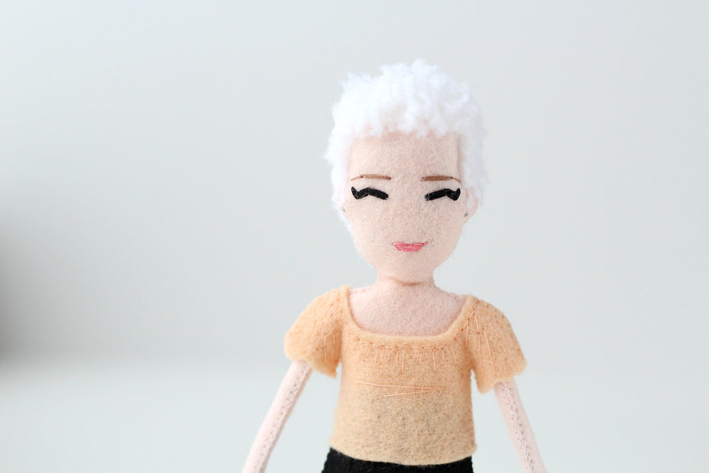 selfie doll, personalised gift