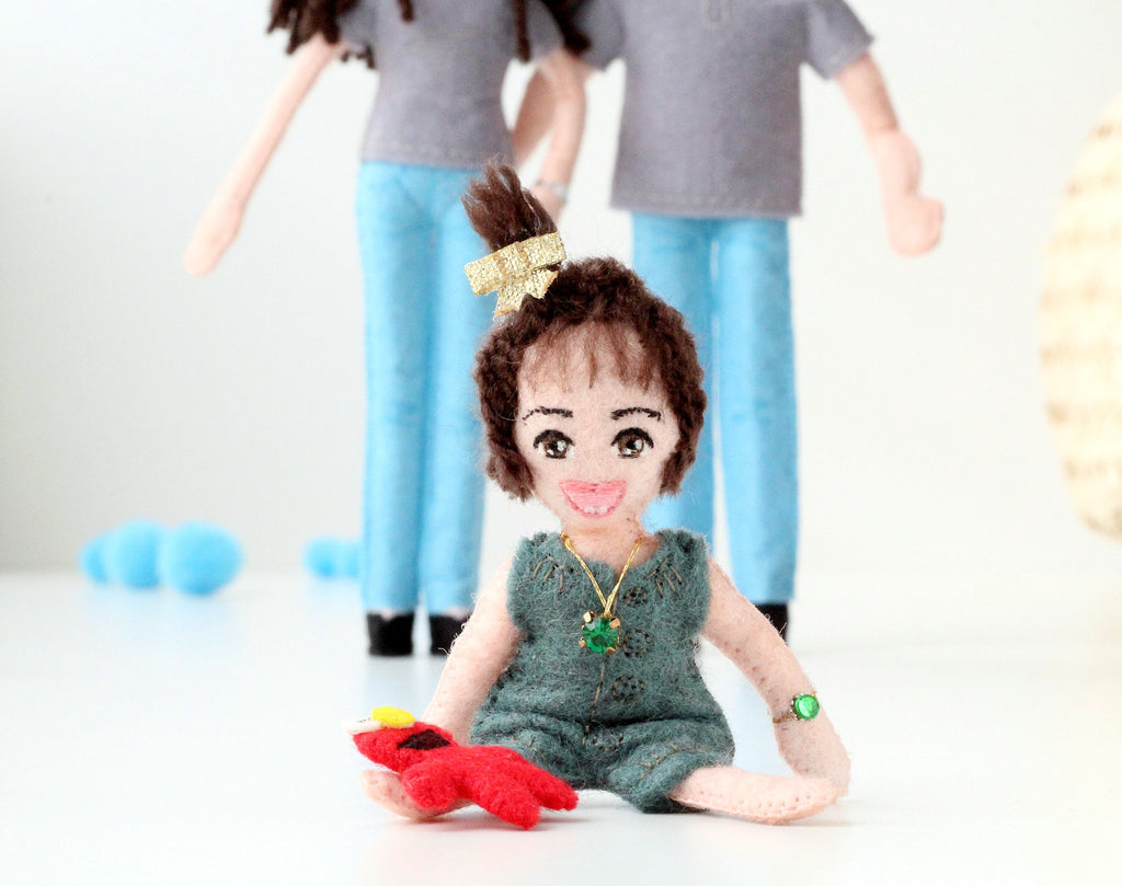 what to give sister, gift for family, whisper of the pipit dolls,