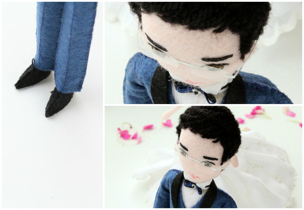 groom doll made to order