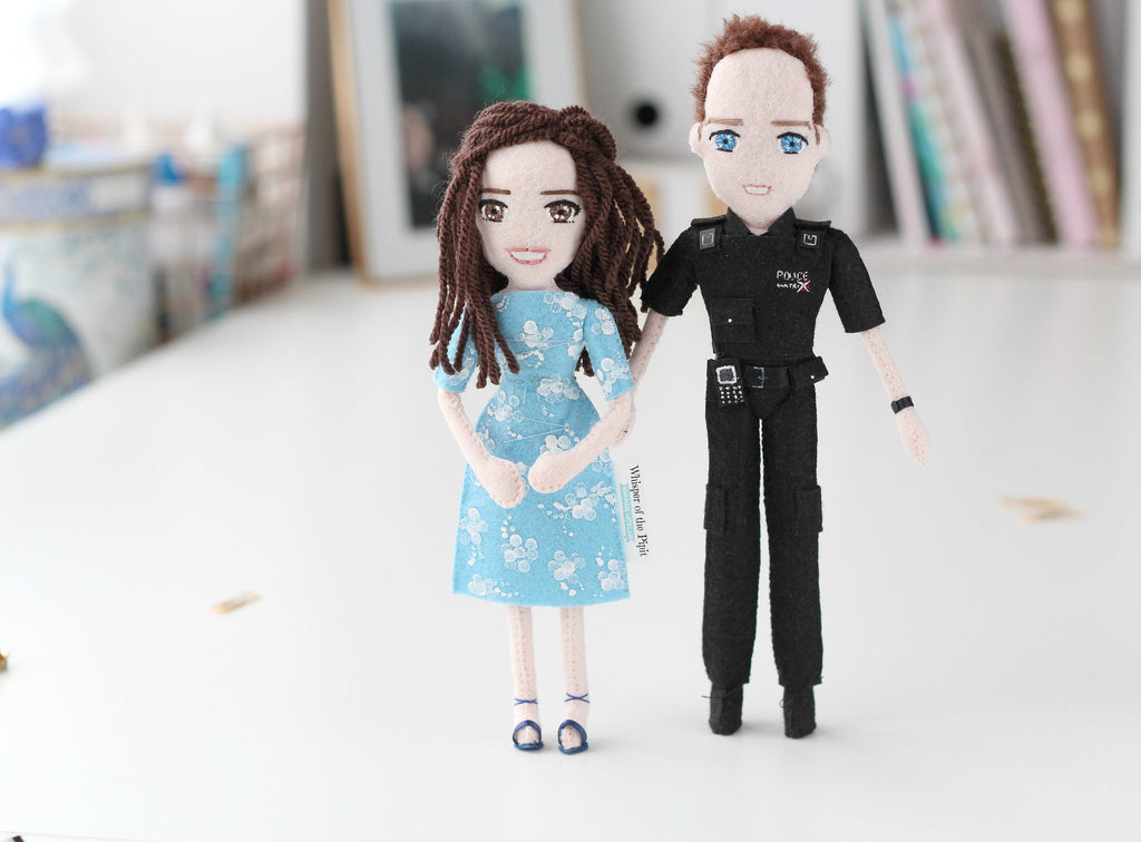 custom doll made to order according to the photo provided by customer. selfie dolls. whisper of the pipit