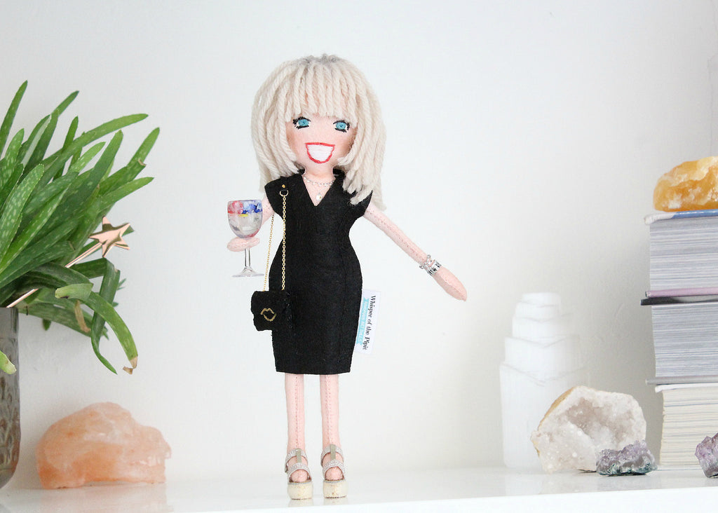 selfie doll from photo, custom doll made from picture or drawing