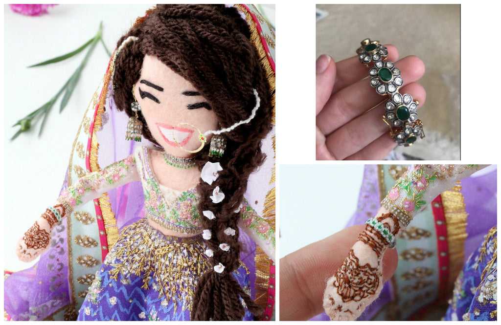 selfie doll for hindu wedding indian