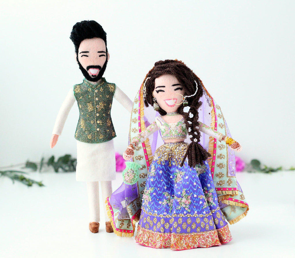 hindu wedding dolls