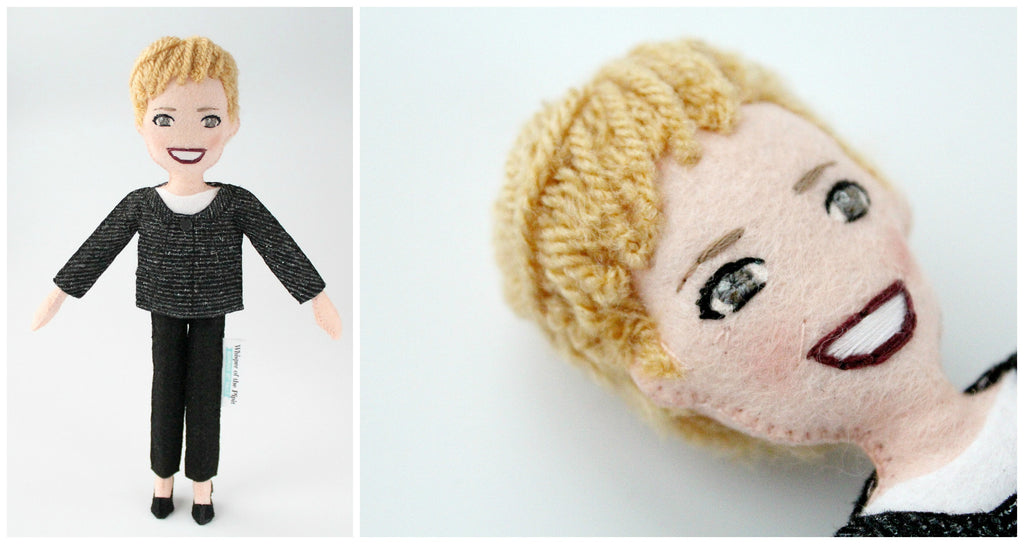personalised doll by malgo amos at whisper of the pipit
