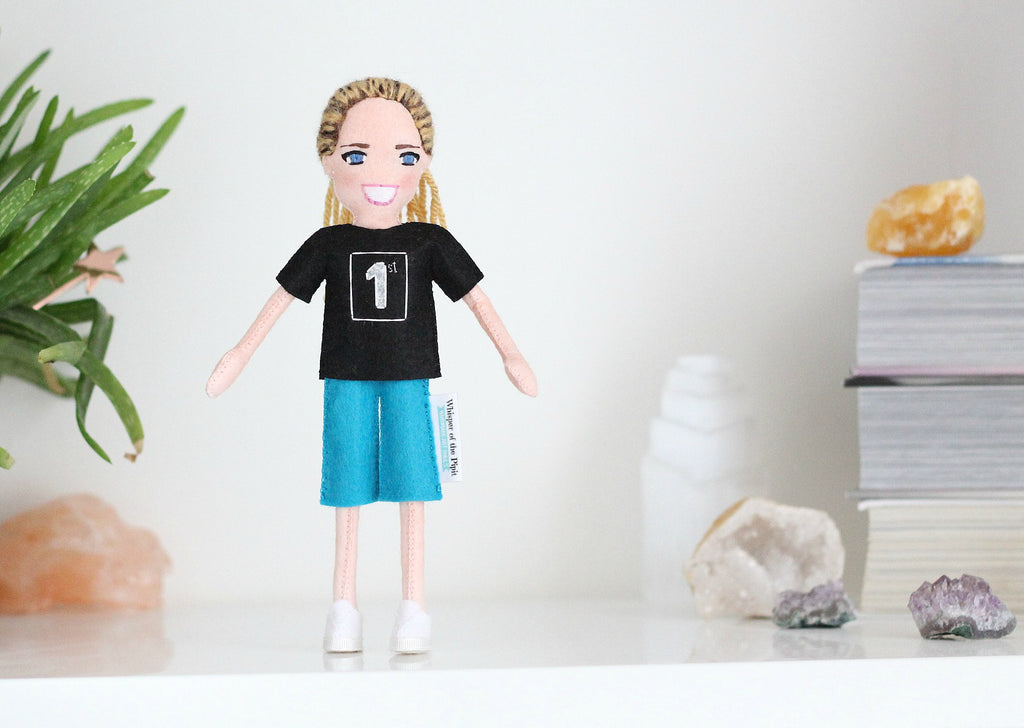 personalized doll from photo