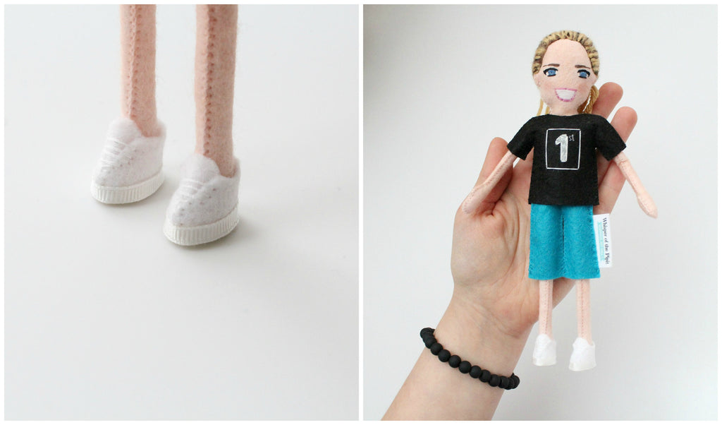 personalised doll from photo