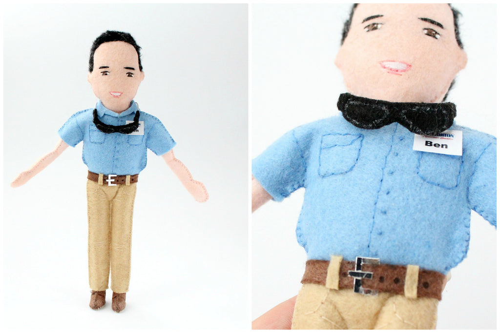 personalised dolls to order from photo employee gifts