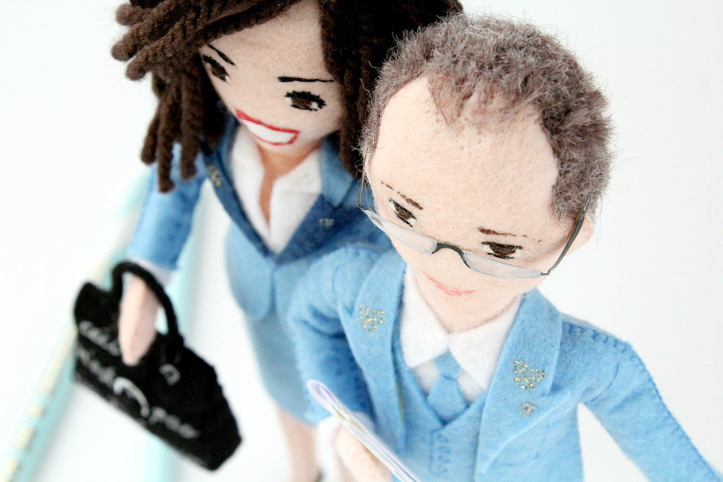personalised dolls for company