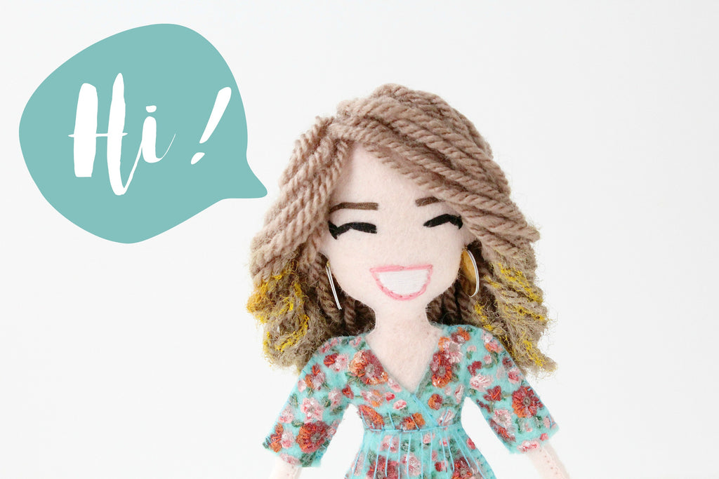 selfie doll made to order by malgo amos