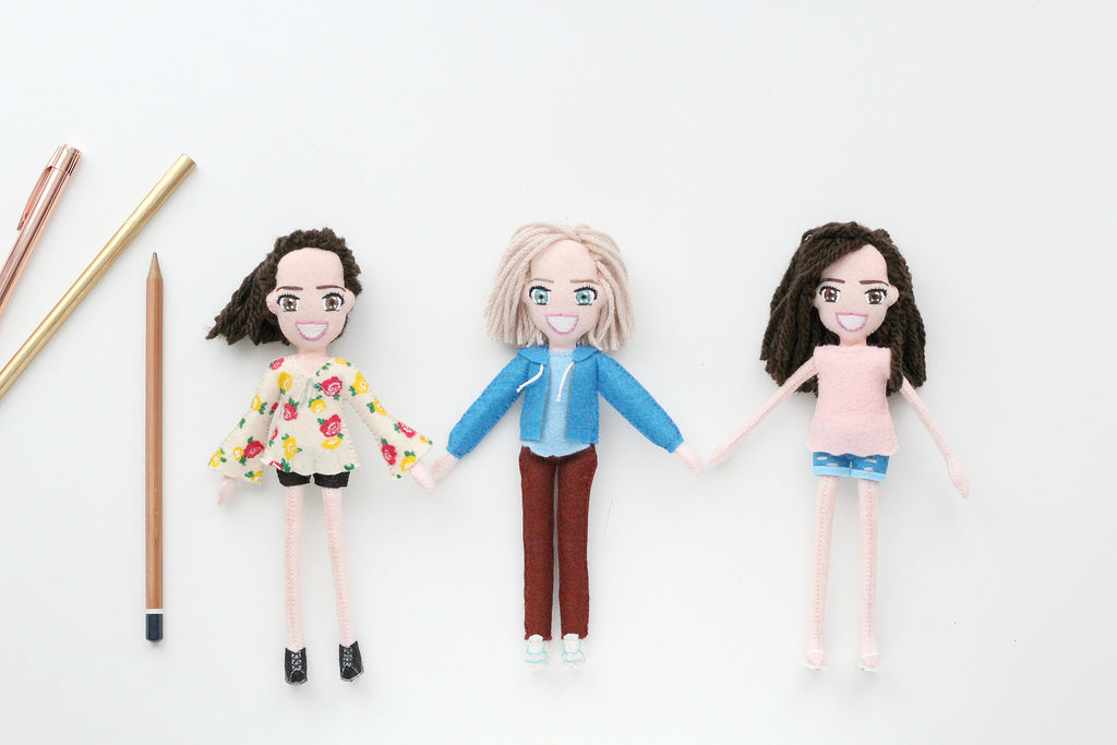 custom dolls for friends