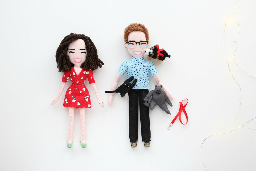 custom art dolls