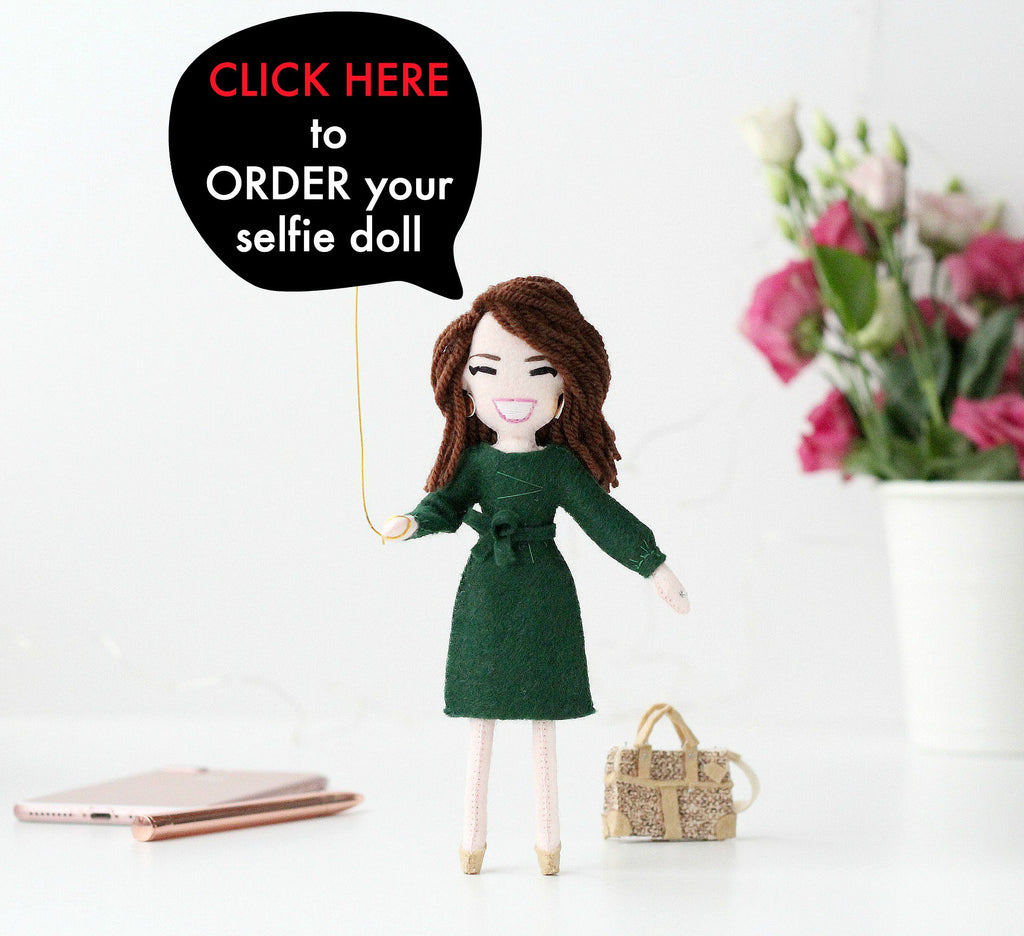 selfie doll how to order