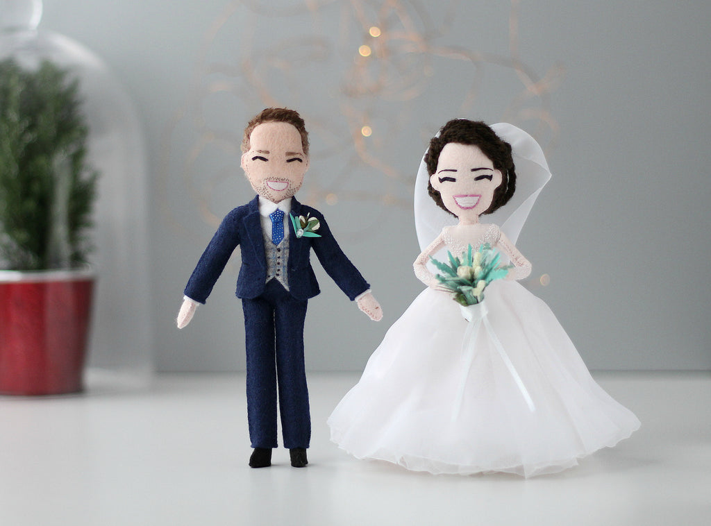 personalised dolls for wedding