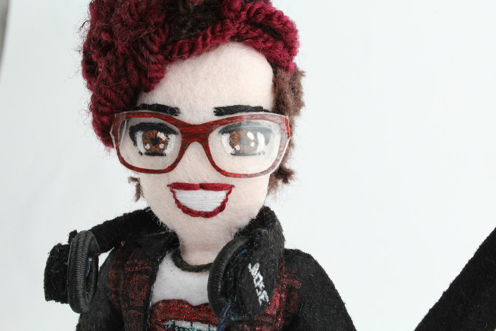 girlfriend gift idea, selfie doll of girlfriend is perfect birthday gift or anniversary