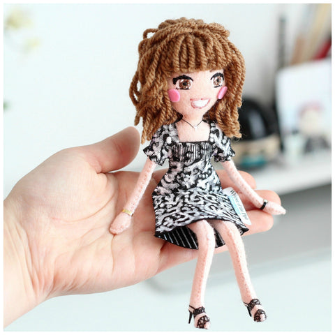 custom dolls, Whisper of the Pipit dolls, selfie dolls, unique gift,