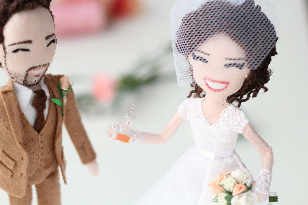 wedding dolls,