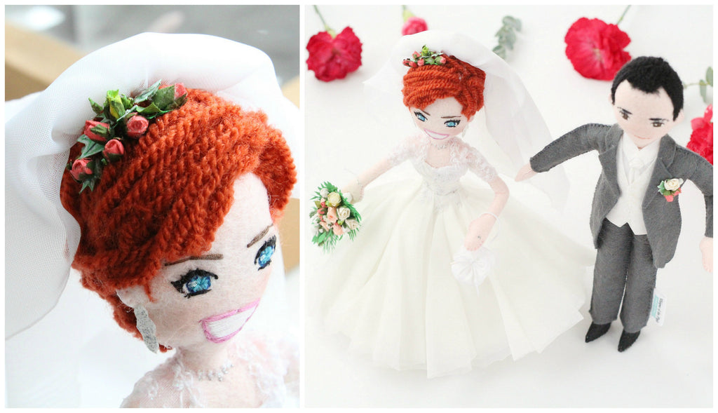 bride doll made to order
