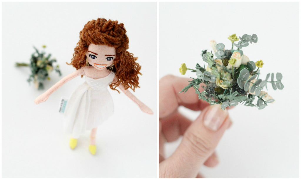 custom bride doll