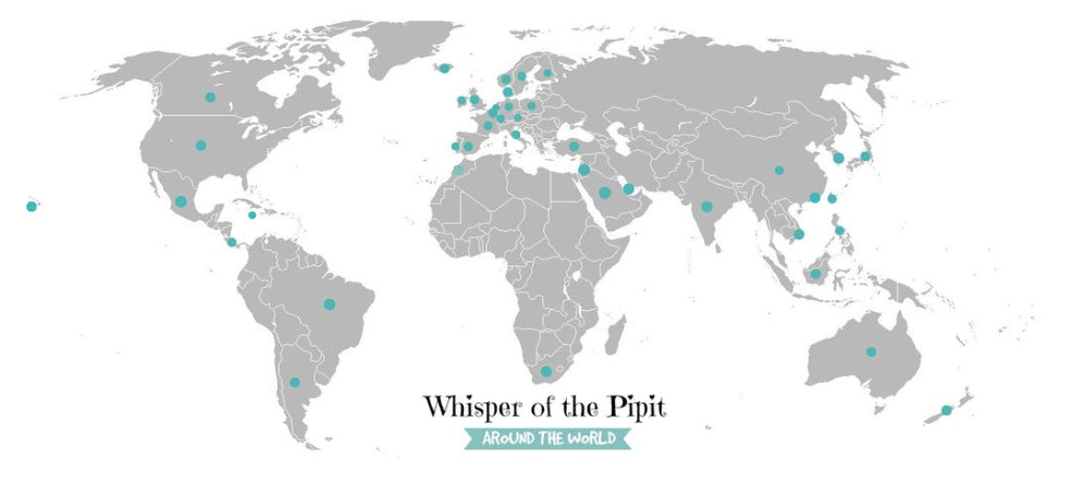 whisper of the pipit destination map