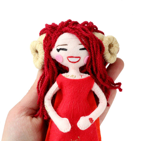Aries Doll - Zodiac Collection