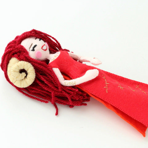 aries doll, gift for aries zodiac
