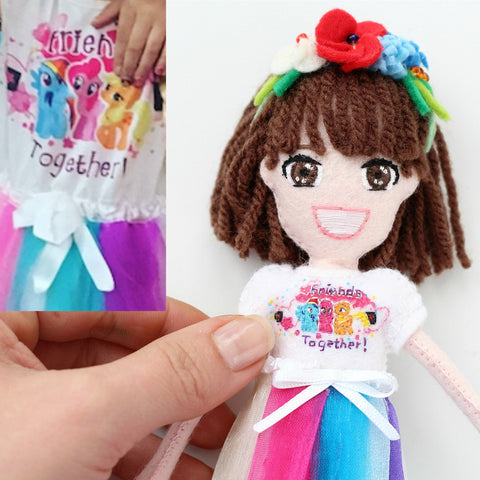 Selfie Doll - Open Eyes