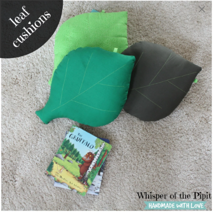Leaf Shaped Cushions