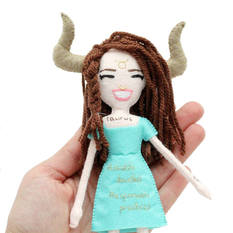 Taurus Doll - Zodiac Collection
